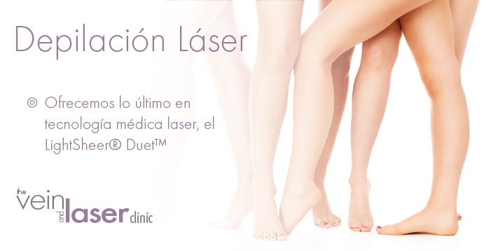 Depilacion Laser En La Clinica de Venas y Rayos